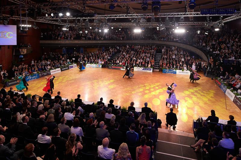 WDSF GrandSlam Standard at German Open Championships 2017, Kultur- und Kongresszentrum Liederhalle, Stuttgart.