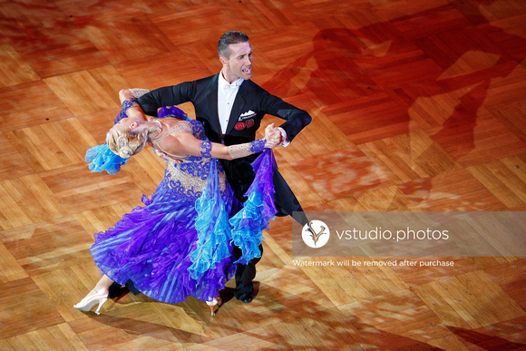 WDSF Grand Slam Standard at GOC 2015. 15.08.15.