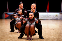 15. DueTeam Perm, Russland (RUS) at WDSF World Championship Formation Latin Adult in ÖVB Arena, Bremen